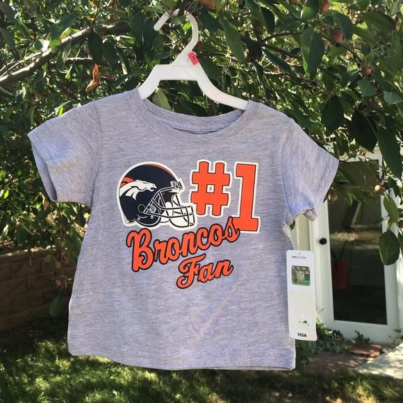 Denver Broncos Toddler Tshirt Size 2t